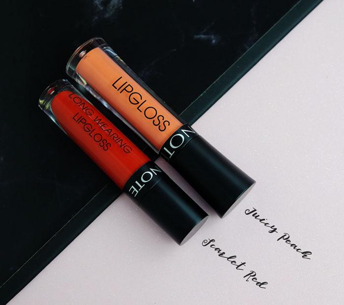 NOTE Vegan Lip Gloss Review
