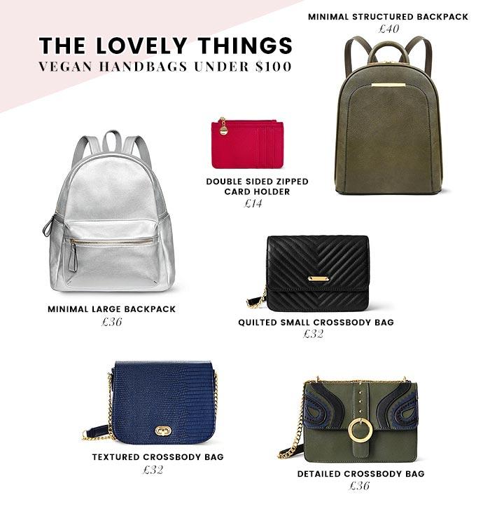 1b900ce00e Affordable Vegan Handbags Brands - Under  100