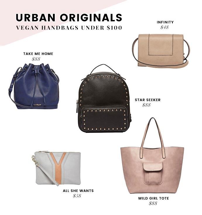 Urban Originals Vegan Handbags