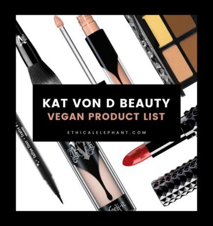 Kat Von D Beauty Vegan Product List (2018)