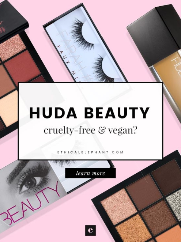 Huda Beauty Cruelty-Free & Vegan Status (2019)