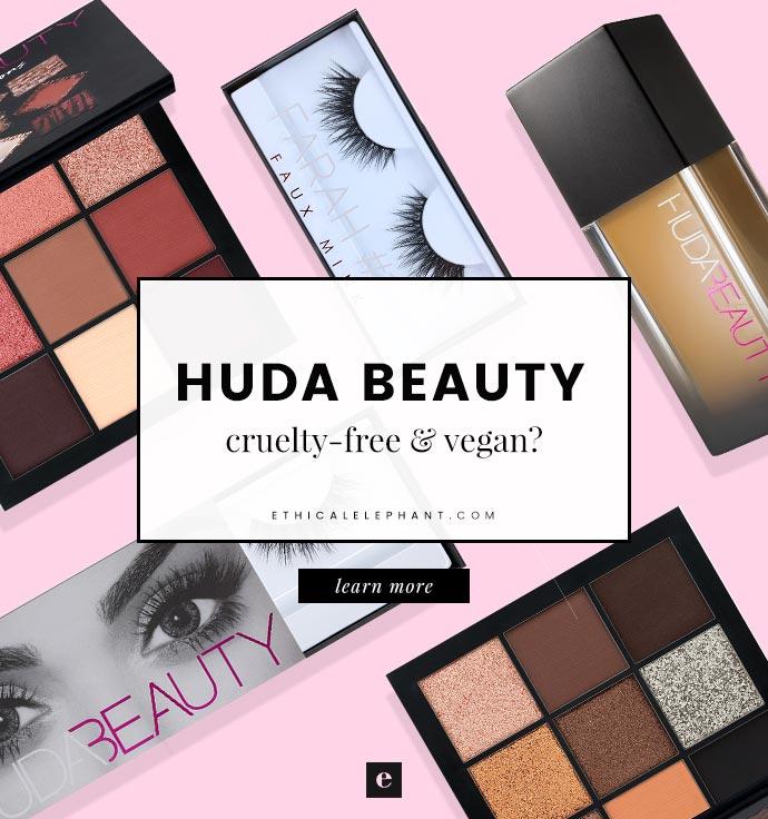 Huda Beauty Cruelty Free Vegan Status 2018
