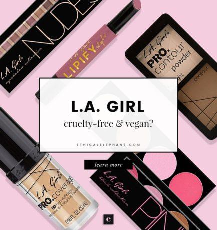 L.A. Girl Cosmetics Cruelty-Free and Vegan Status