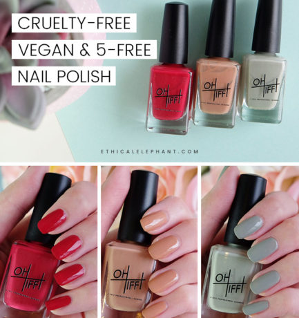OH TIFF! Cruelty-Free, Vegan, 5-Free Nail Polish Review