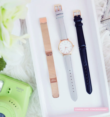 Aubry Watches – Interchangeable 3-in-1 Vegan & Ethical Watch!