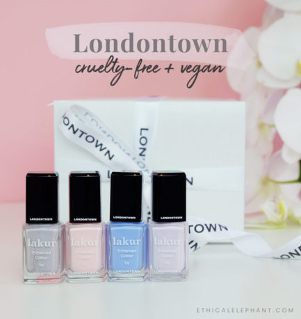 My Nails are So Long, Thanks to Londontown's Vegan Nail Polish!