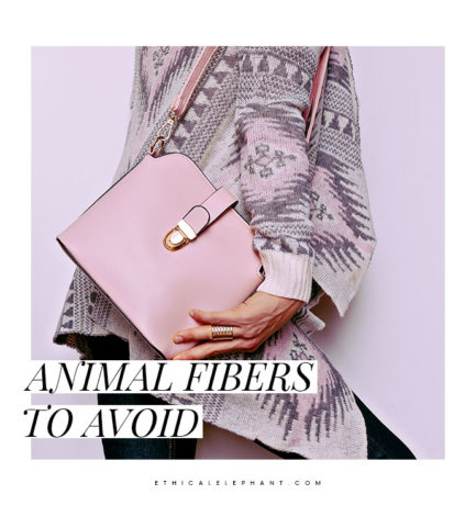 Animal Fibers That Don't Belong In An Animal Lovers' Closet