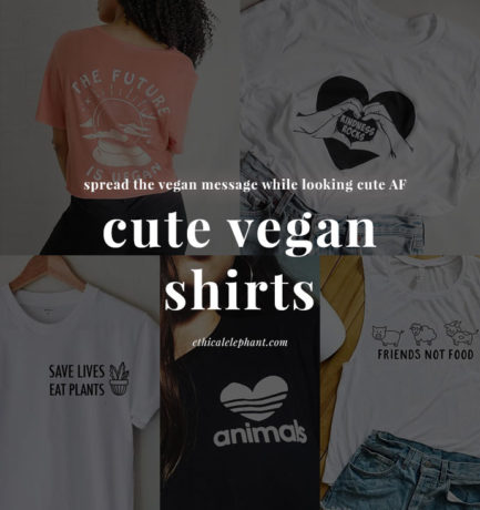 22 Cute Vegan Shirts for Animal-Lovers and Plant-Based Babes