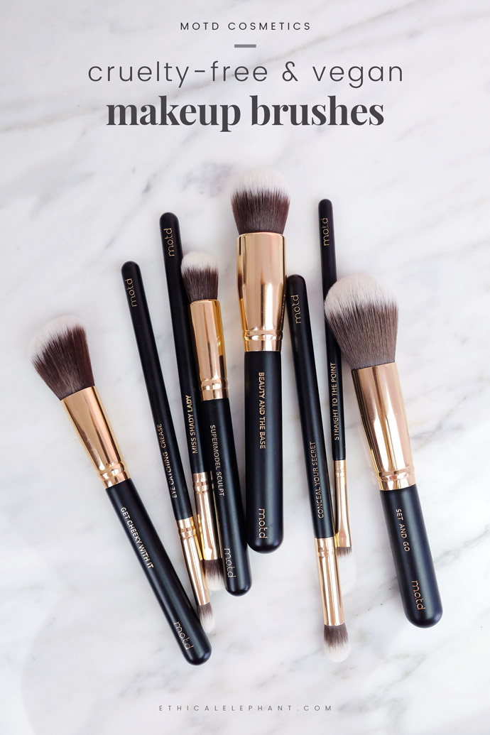 Vegan Makeup Brushes Motd Cosmetics
