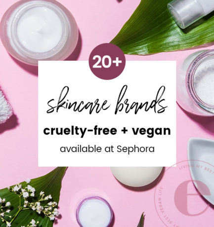 Cruelty-Free and Vegan Skincare Brands at Sephora