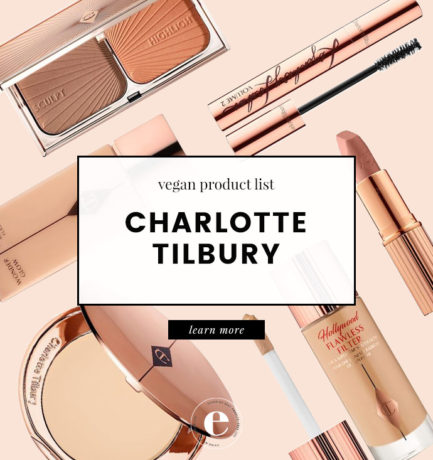 Charlotte Tilbury Vegan Product List (2018)