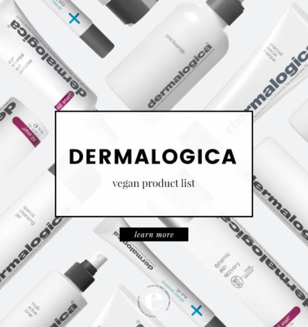 Dermalogica Vegan Product List (2018)