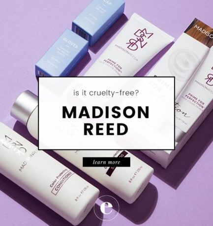 Does Madison Reed Test on Animals? (2018)