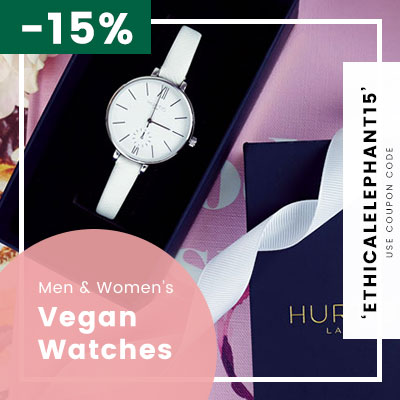 Receive 15% OFF Hurtig Lane Watches Coupon Code: ETHICALELEPHANT15