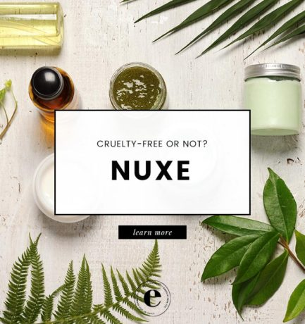Is NUXE Cruelty-Free? | NUXE Animal Testing Policy (2018)