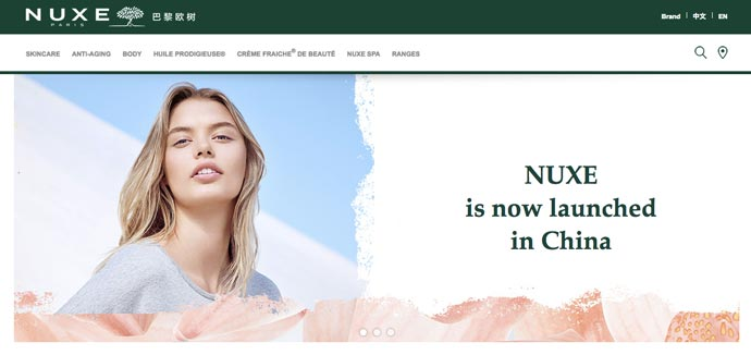 NUXE Sold in China - Cannot Be Cruelty-Free