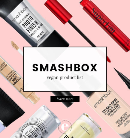 Smashbox Vegan Product List (2018)