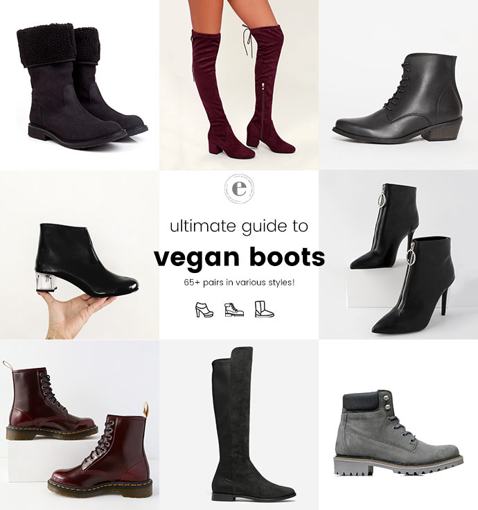 Ultimate Shopping Guide to Vegan Boots | 65+ Pairs of Vegan