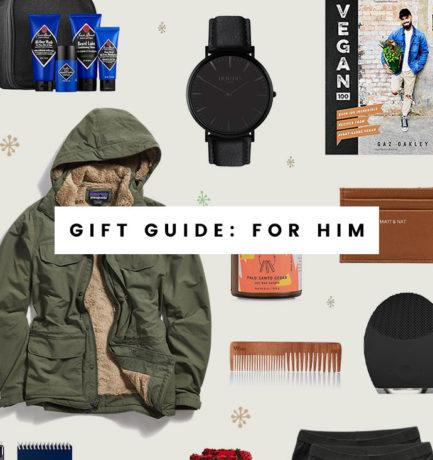 Vegan & Ethical Gift Ideas for Him (2018)