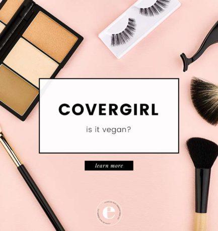 Is CoverGirl Vegan?