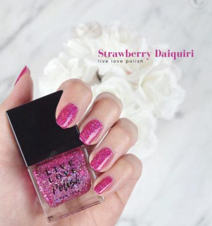 Live Love Polish – Strawberry Daiquiri #VeganManiMonday