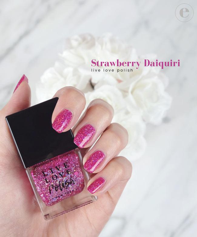 Live Love Polish - Strawberry Daiquiri (Cruelty-Free & Vegan)