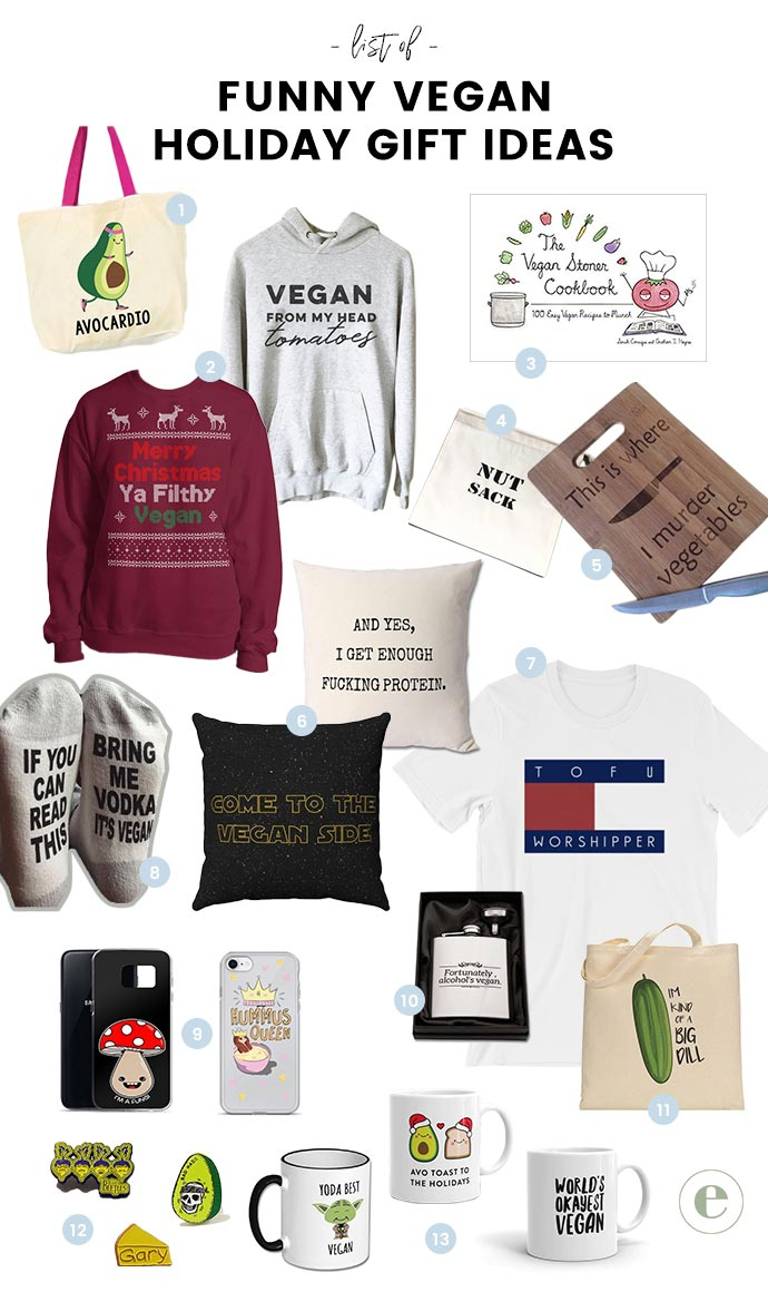 Funny Vegan Gift Ideas