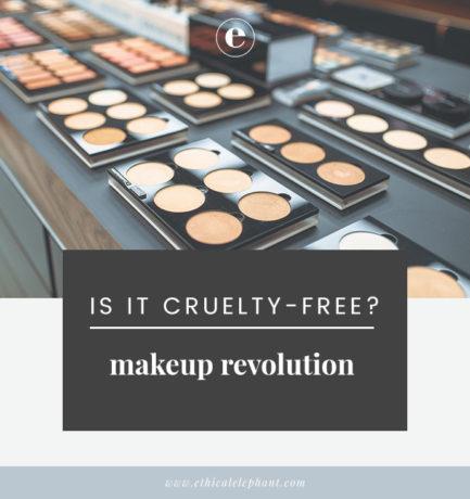 Is Makeup Revolution Cruelty-Free/Vegan?