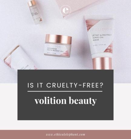 Volition Vegan & Cruelty-Free Status (2019)