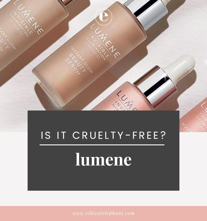lumene animal testing