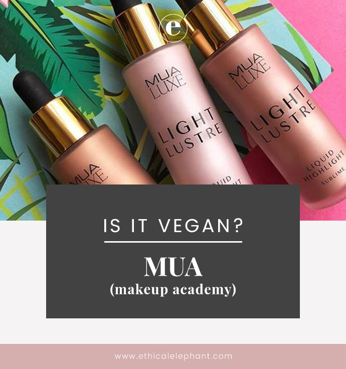 Is Make Up Academy Mua Vegan Mua Vegan Product List 2019