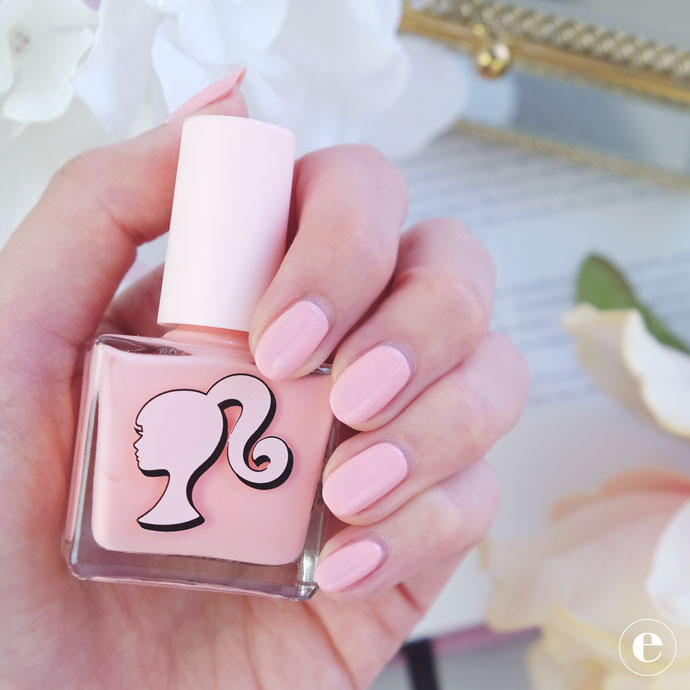 Pastel Dreams Ncla X Barbie Nail Polish Review Ethical Elephant