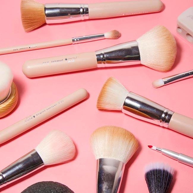 100% Pure Vegan Makeup Brushes