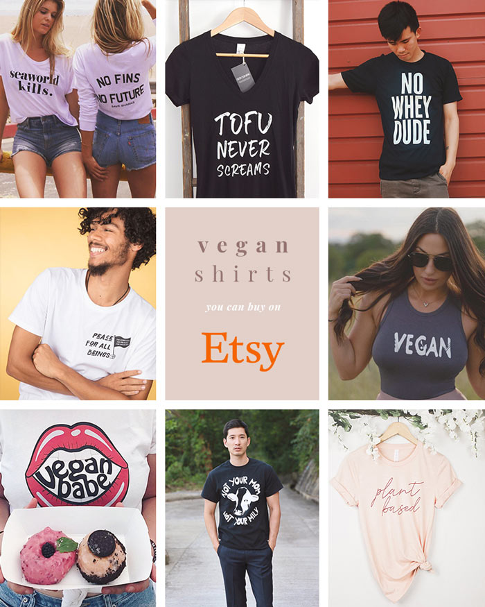 1ddd34b36bb14 The Best Etsy Vegan Shirts and Clothing Shops to Support Vegan Creators