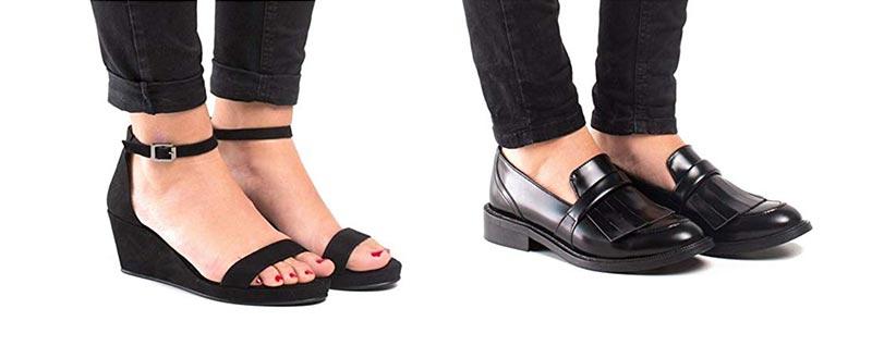 Nae vegan leather shoes on Amazon.