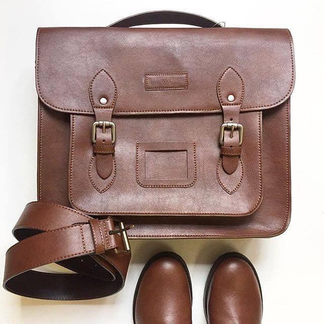 Will's Vegan Leather Satchel/Briefcase