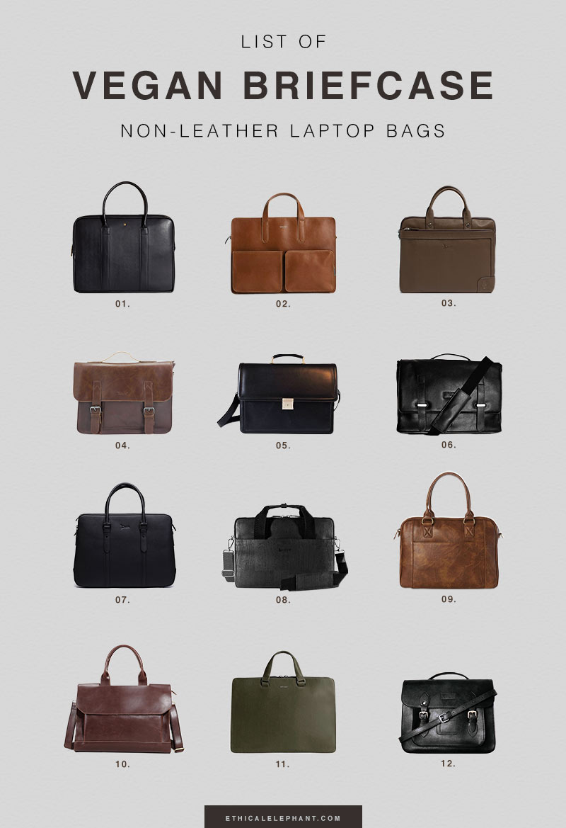 Leather Men Briefcase Handbag Business Laptop Tote Holder Casual Shoulder Bag