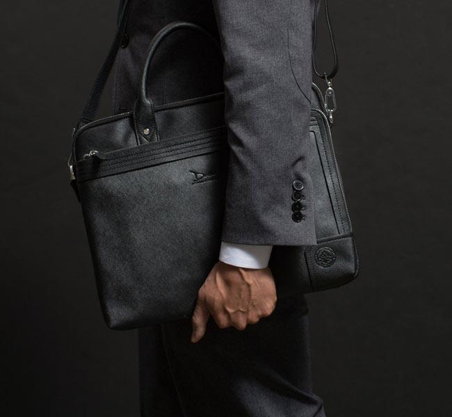 Doshi Vegan Leather Briefcase Midsize