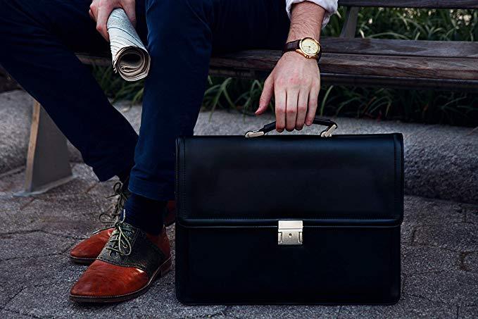 VeganWear Vegan Leather Briefcase