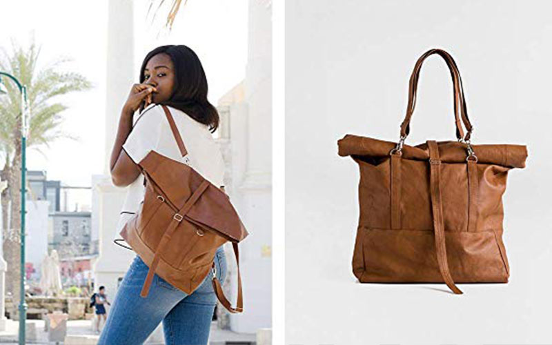 Lee Coren handmade vegan handbags on Amazon.