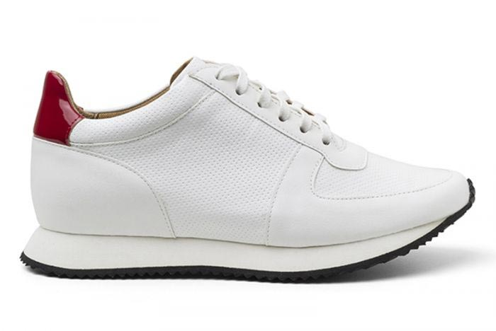 Ahimsa's Casual White Vegan Sneakers