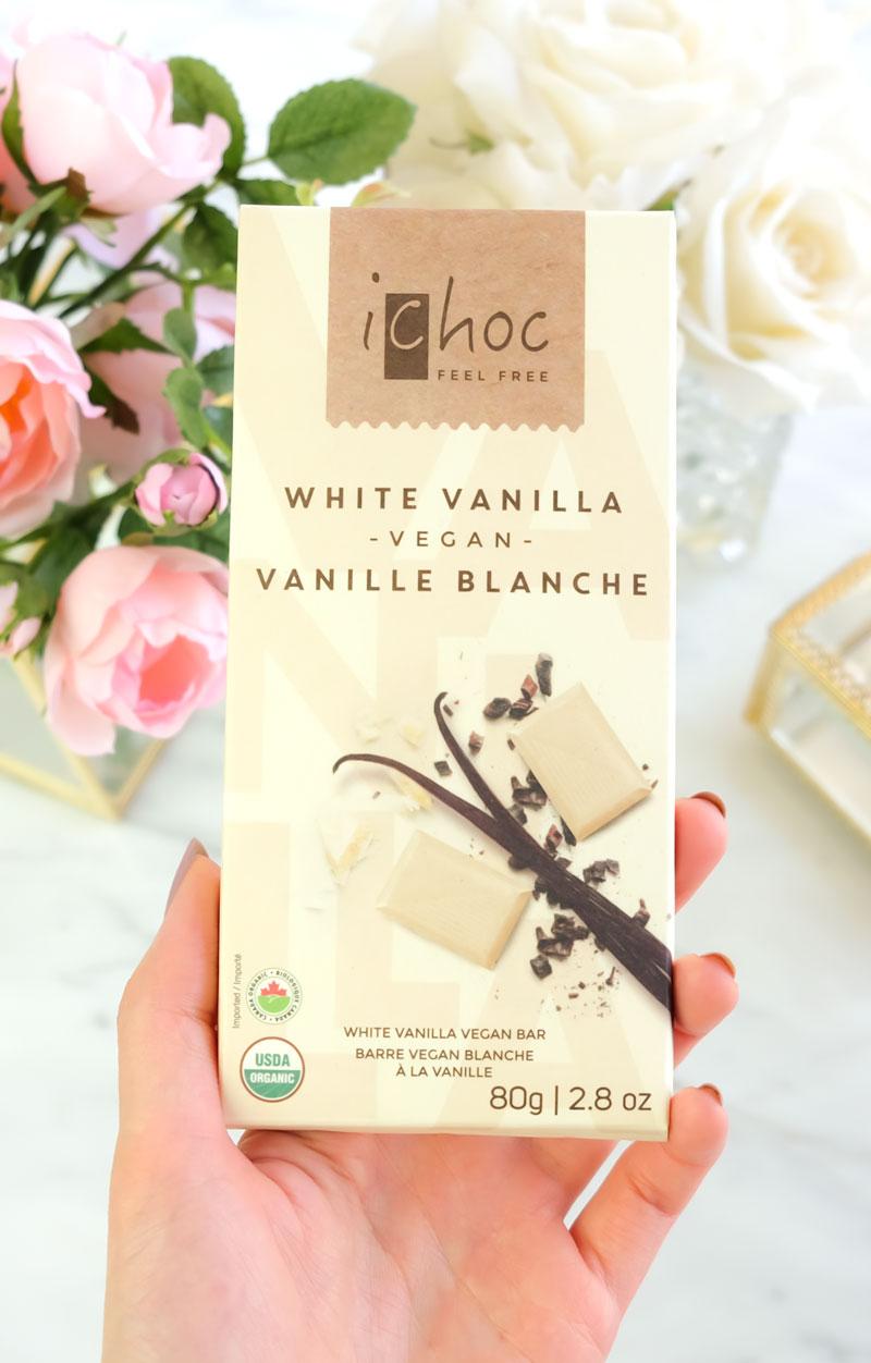iChoc Vegan White Chocolate Bar