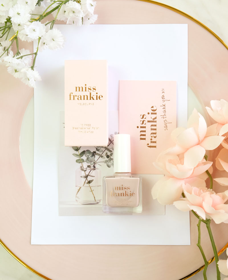 Miss Frankie - I Prefer Champagne Nail Polish Review (100% Vegan!)