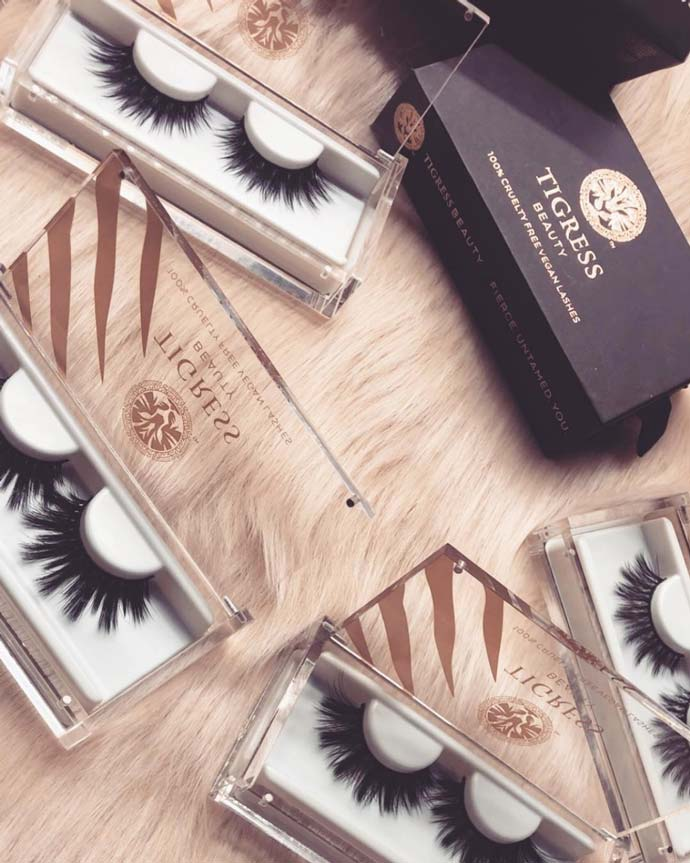 Tigress Beauty Vegan Lashes