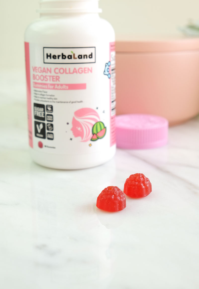 Vegan collagen gummies for adults - Herbaland