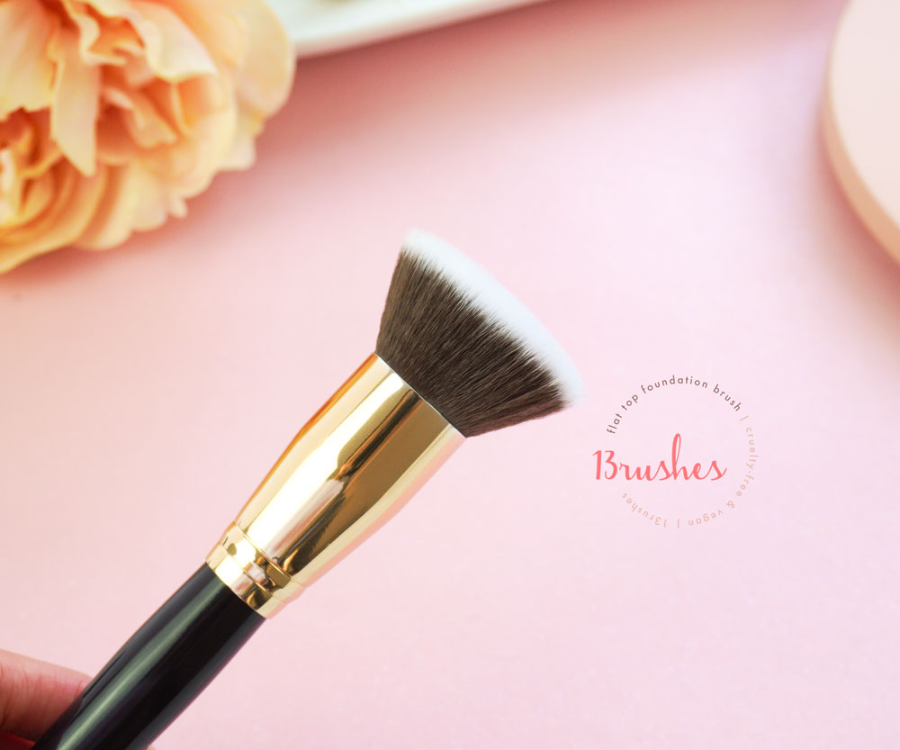 Flat Top Foundation Brush - 13rushes Review