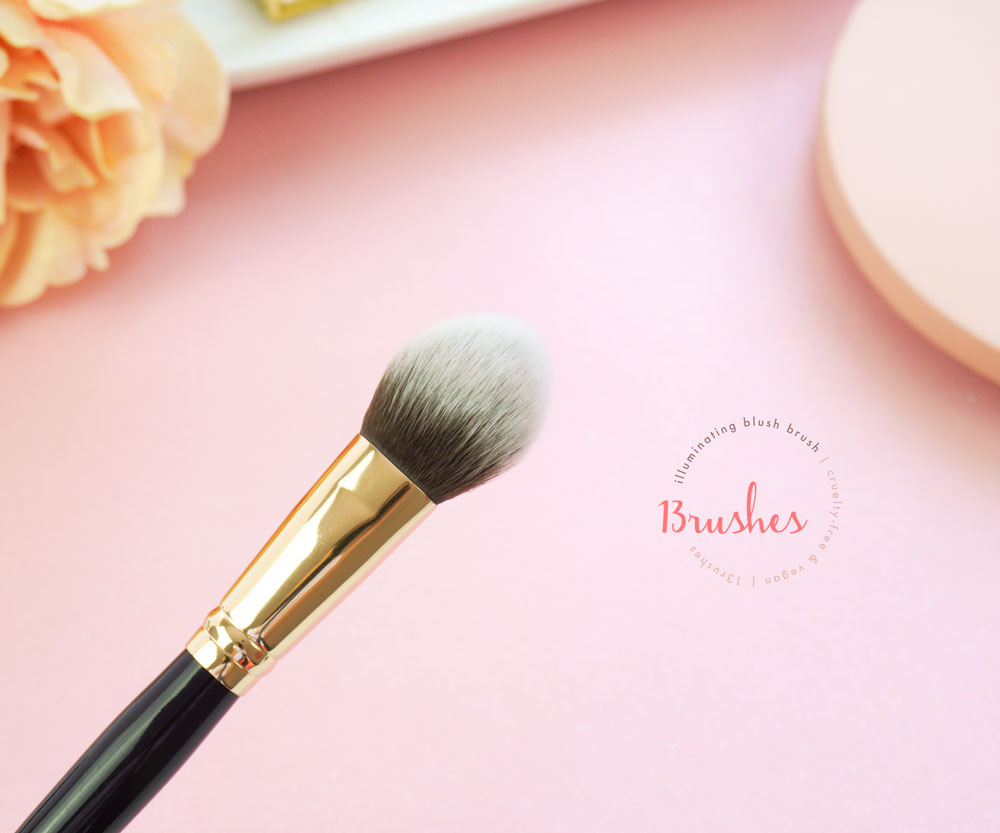 Illuminating Blush Brush - 13rushes Review