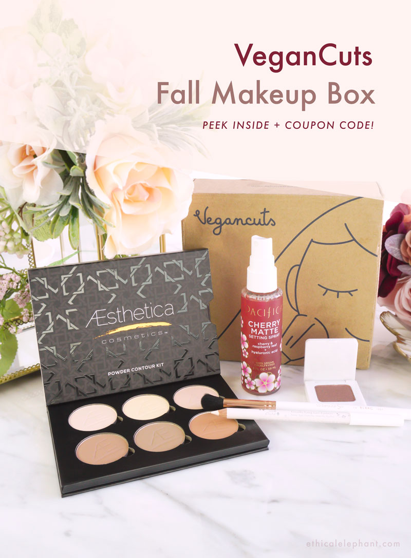 VeganCuts Makeup Box - Fall 2019