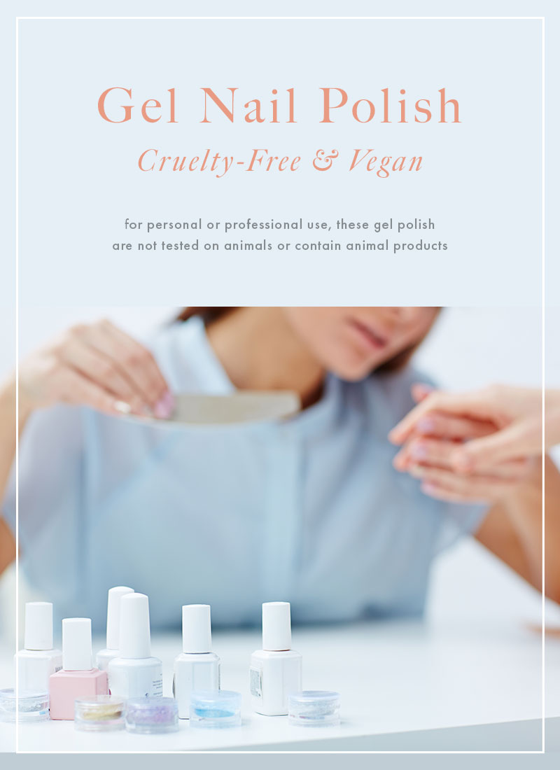 Cruelty-Free and Vegan Gel Polish