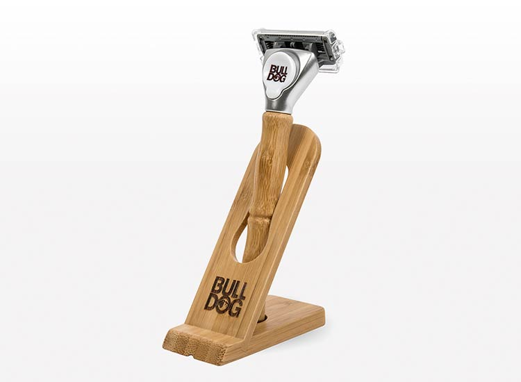 Bulldog Skincare Eco-Friendly Razor Made with Natural Bamboo